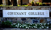 Tara Potts - Covenant College Sign