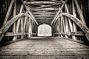 Scott Wood - Covered Bridge B n W
