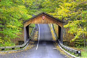 Scenic Drive Prints - Covered Bridge in Sleeping Bear Dunes Print by Twenty Two North Photography