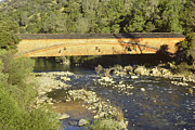 Bridgeport California Photos - Covered Bridge by Jeff Leland