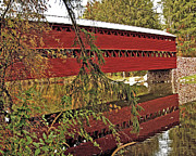 Charles Willis - Covered Civil War Bridge