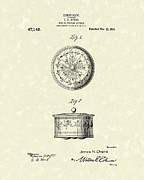 Article Posters - Covered Dish 1915 Patent Art Poster by Prior Art Design