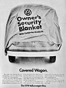 Sixties Posters - Covered Wagon Poster by Benjamin Yeager