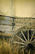 Schooner Prints - Covered Wagon Details Print by Jill Battaglia