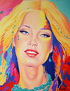 Brigitte Bardot Paintings - Covergirl by Hans Doller