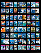 Sean Davey Framed Prints - Covers Galore Framed Print by Sean Davey