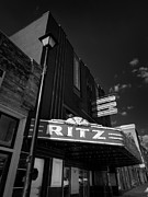 Covington Prints - Covington TN - The Ritz 001 Print by Lance Vaughn