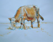 Mike Jory - Cow Painting