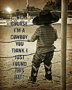 Carolyn Pettijohn - Cowboy Art - Photograph...