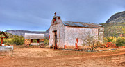 Tap On Photo Prints - Cowboy Church Print by Marcia Fontes Photography