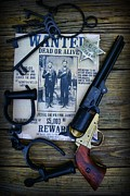 Handcuffs Posters - Cowboy - Law and Order Poster by Paul Ward
