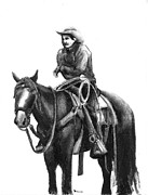 Casey Brown - Cowboy on his Horse