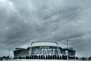 Superbowl Prints - Cowboy Stadium Print by Joan Carroll
