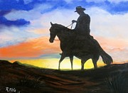 Rich Fotia - Cowboy Sunset