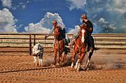Cowboy's Toys Print by Karen Slagle