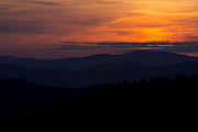 Cowee Mountain Overlook Prints - Cowee Mountain Overlook #2 Print by Ben Shields