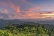 Cowee Prints - Cowee mountain overlook. Print by Itai Minovitz