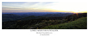 Cowee Mountain Overlook Prints - Cowee Mountains Overlook Print by Ben Shields