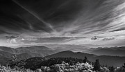 Cowee Mountain Overlook Prints - Cowee Overlook Print by Joye Ardyn Durham