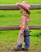 Susie Fisher - Cowgirl in Pink