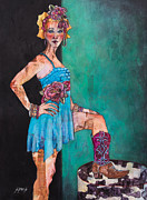 Cowgirl Mixed Media - Cowgirl by Sherry Davis