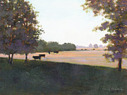 Pastureland Framed Prints - Cows 5 Framed Print by J Reifsnyder