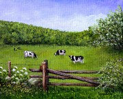 Sandra Estes - Cows In The Pasture