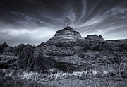Buttes Framed Prints - Coyote Buttes Cloud Explosion Framed Print by Mike  Dawson