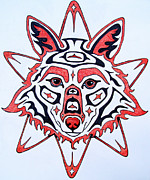 Featured Artist Originals - Coyote Sun by Joey Nash