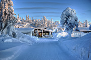 Snow Drifts Photos - Cozy in Winter by Mountain Dreams