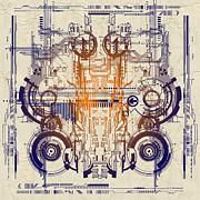 Cpu IIi Print by Diuno Ashlee