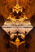 Crack Radiance Print by Mamoun Sakkal