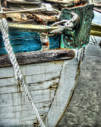 Shrimp Boat Prints - Cracked Bow Print by Michael Thomas