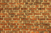 Crisp Prints - Cracked Dirty Brick Wall Background Print by Kiril Stanchev