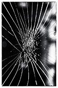 Art Glass Picture Prints - Cracked in New Orleans Print by John Rizzuto