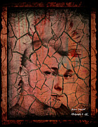Boy Digital Art Originals - Cracked Society by Jessica Grandall
