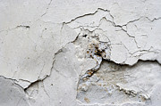Weatherworn Prints - Cracked Stucco - Grunge Background Print by Michal Boubin
