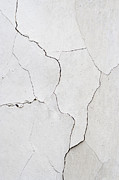 Smudged Framed Prints - Cracked Stucco  Framed Print by Michal Boubin