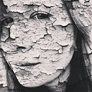 Portraits Art - #cracked #tagstagram.app #portrait by Nicole Ulrich