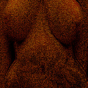 Nudes Digital Art Prints - Crackle V3 Print by James Barnes