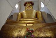 Civilizations Originals - cramped Buddha statue in MA-NU-HA TEMPLE by Juergen Ritterbach