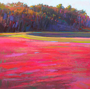 Cape Cod Pastels Prints - Cran Jam Print by Ed Chesnovitch