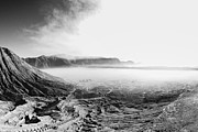 Matsu Framed Prints - Crater of Bromo Framed Print by Hakai Matsu