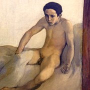 Nudes Art - Crawling Out Of Bed #naked #nude #boy by Dimitre Mihaylov