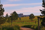Country Dirt Roads Photos - Crazy Horse in the Distance by John Malone