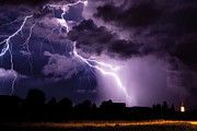 Precipitation Originals - Crazy lightning by Marko Korosec