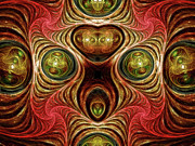 Ornamental Digital Art - Crazy Modern Art Abstract by Zeana Romanovna