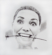 Normal Drawings - Crazy by Sadia Zaman