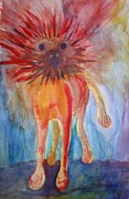 Alternative Painting Originals - Crazy troll by Hilde Widerberg