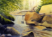 Todd Derr Prints - Crazy Woman Creek Wyoming Print by Todd Derr